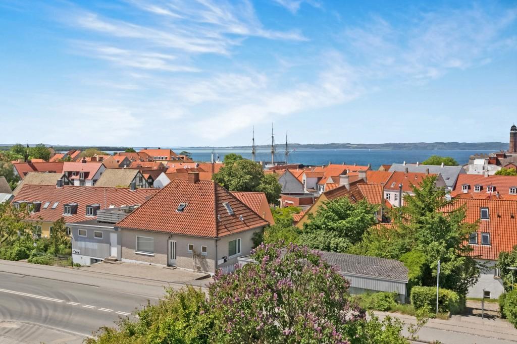 Panoramaudsigt fra ejendommen